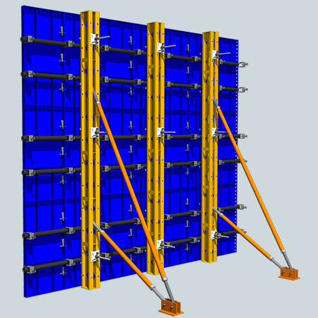 سیستم قالب بندی دیوار