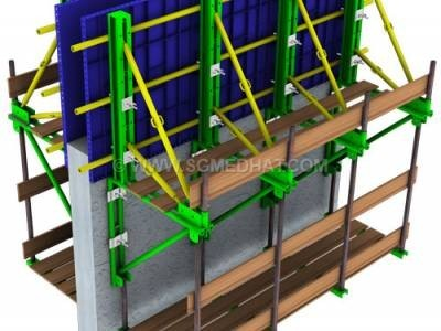 Formwork Systems Formworks of High Walls