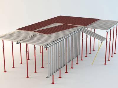 قالب سقف سبک