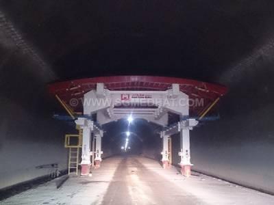 آزاد راه تهران شمال - تونل 16 راست
