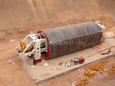 تونل انتقال آب سد کنجان چم